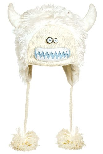 Knitwits by Delux Kids Yuki The Yeti Pilot Hat Beanie White Abominable  Snowman Viking Horns  kidsaccessories  kidsclothing  hats  25.00 fdff90e5c73
