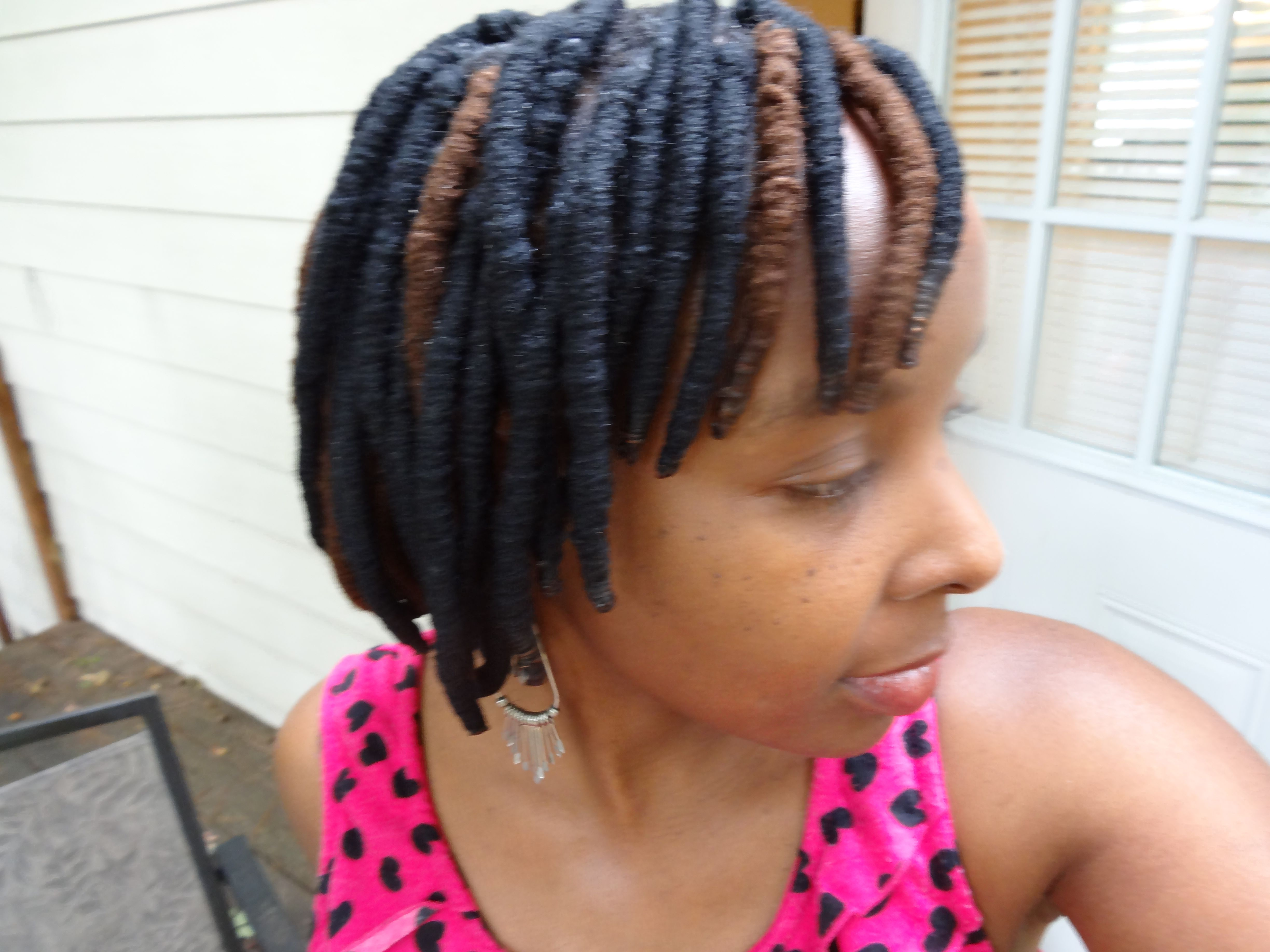 My New HairStyle I Done It is Called Yarn Wraps This style