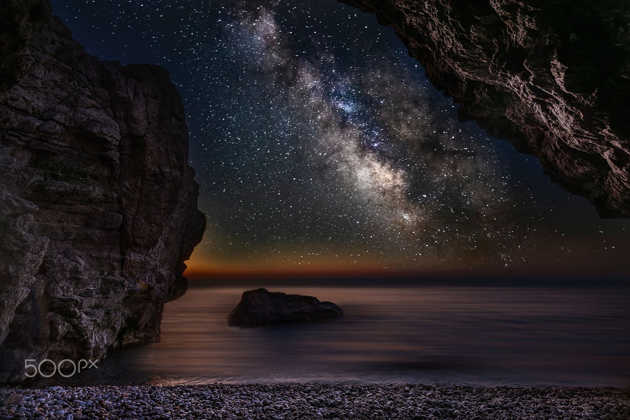 The Cave - Milky way in RHODES