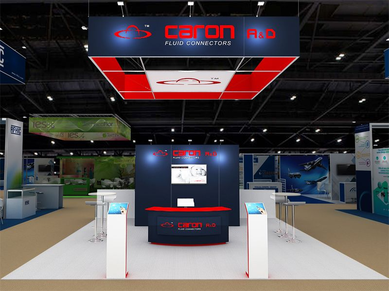 Modular Exhibition Stand Builders : The top exhibition stand builder in usa will help you in getting