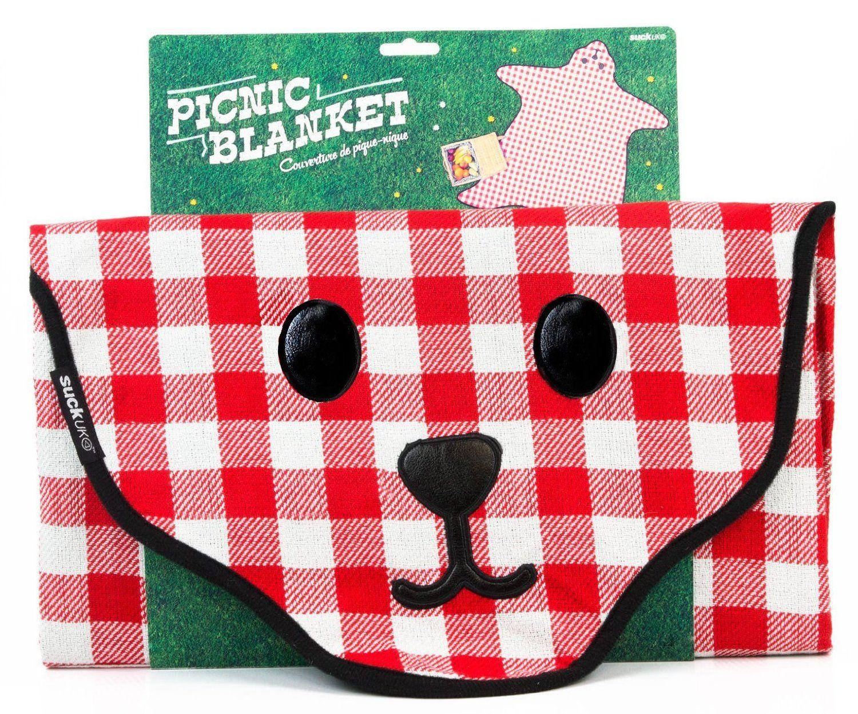 Bear Skin Gingham Picnic Blanket - I Want That Gear