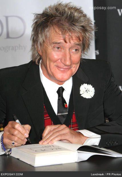 #rodstewart   rod stewart photo rod stewart s rod the #autobiography book signing at
