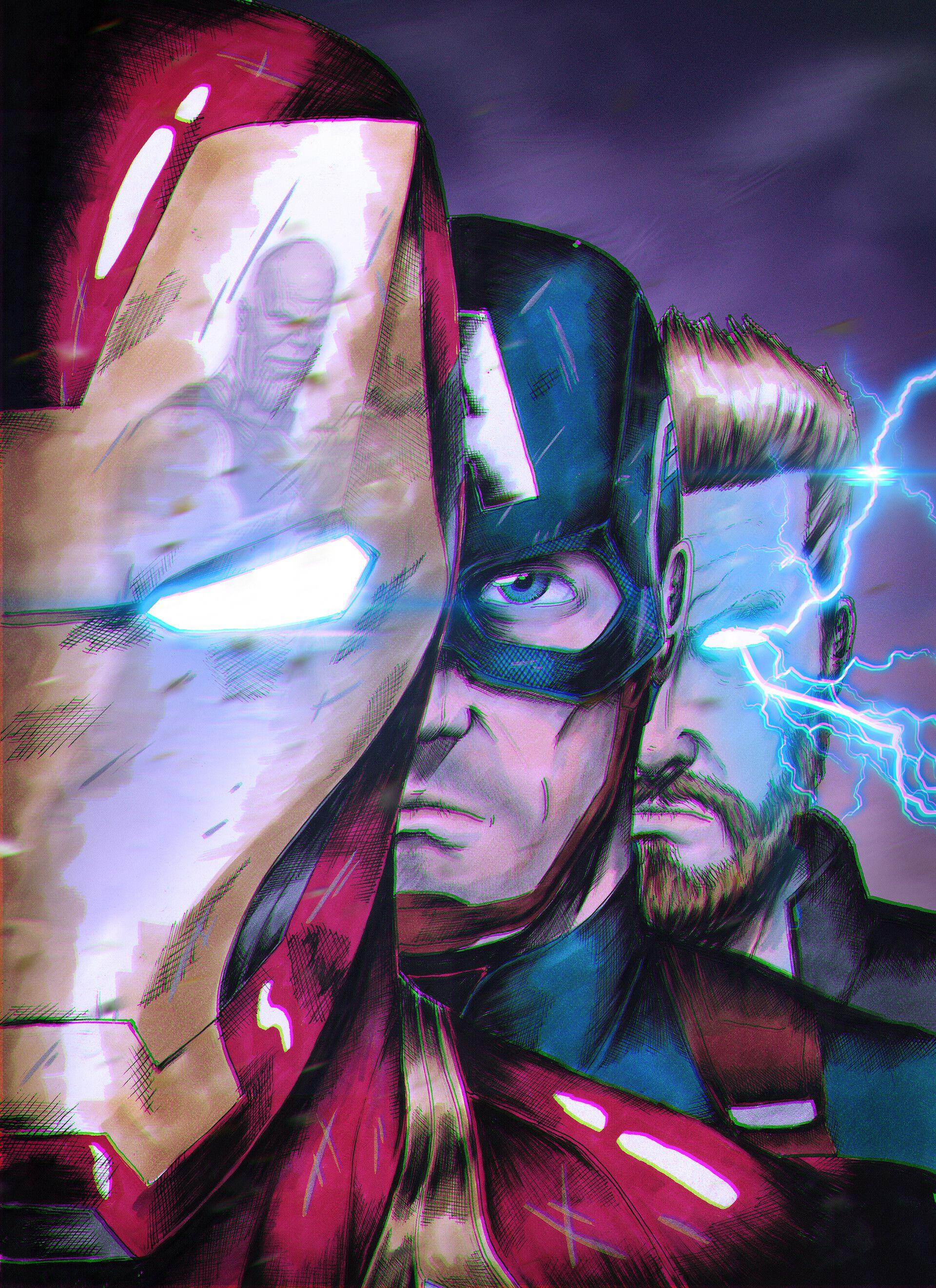 ArtStation - Avengers Endgame, Arsen Syromyatnikov #marvelavengers