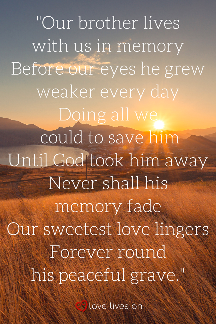 27 Best Funeral Poems For Brother Funeral Poems Brother Poems Funeral Quotes