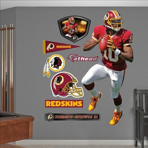 Fathead Washington Redskins Robert Griffin III Wall Graphic By - Yadier molina wall decals