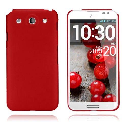Smooth (Punainen) LG Optimus G Pro Suojakotelo
