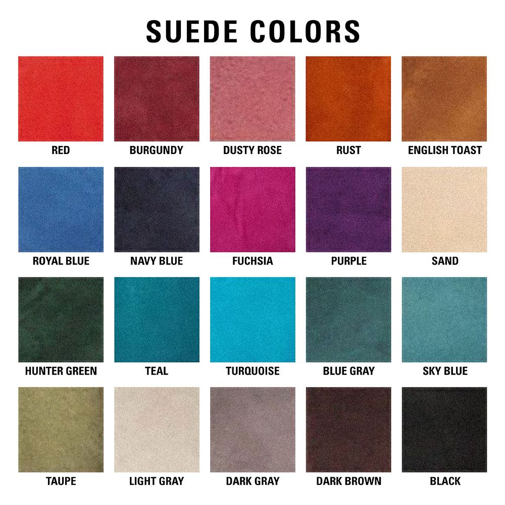 Saddleright Saddle Pad Suede Color Options Saddle Pads Color