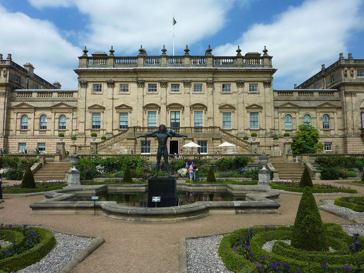 Harewood House Leeds Built Between 1759 And 1771 By Edwin