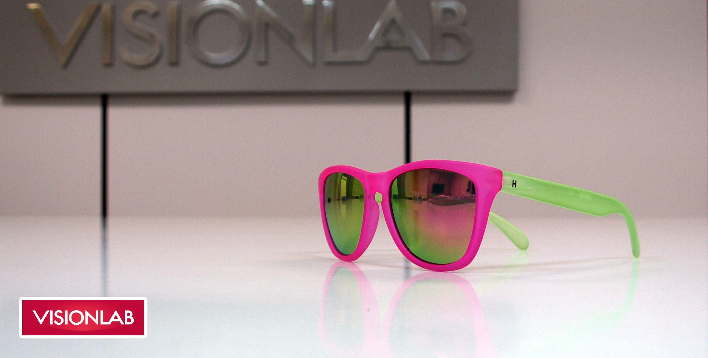 520ca4256e Gafas de sol espejadas rosas y verdes Hevian http://www.visionlab.