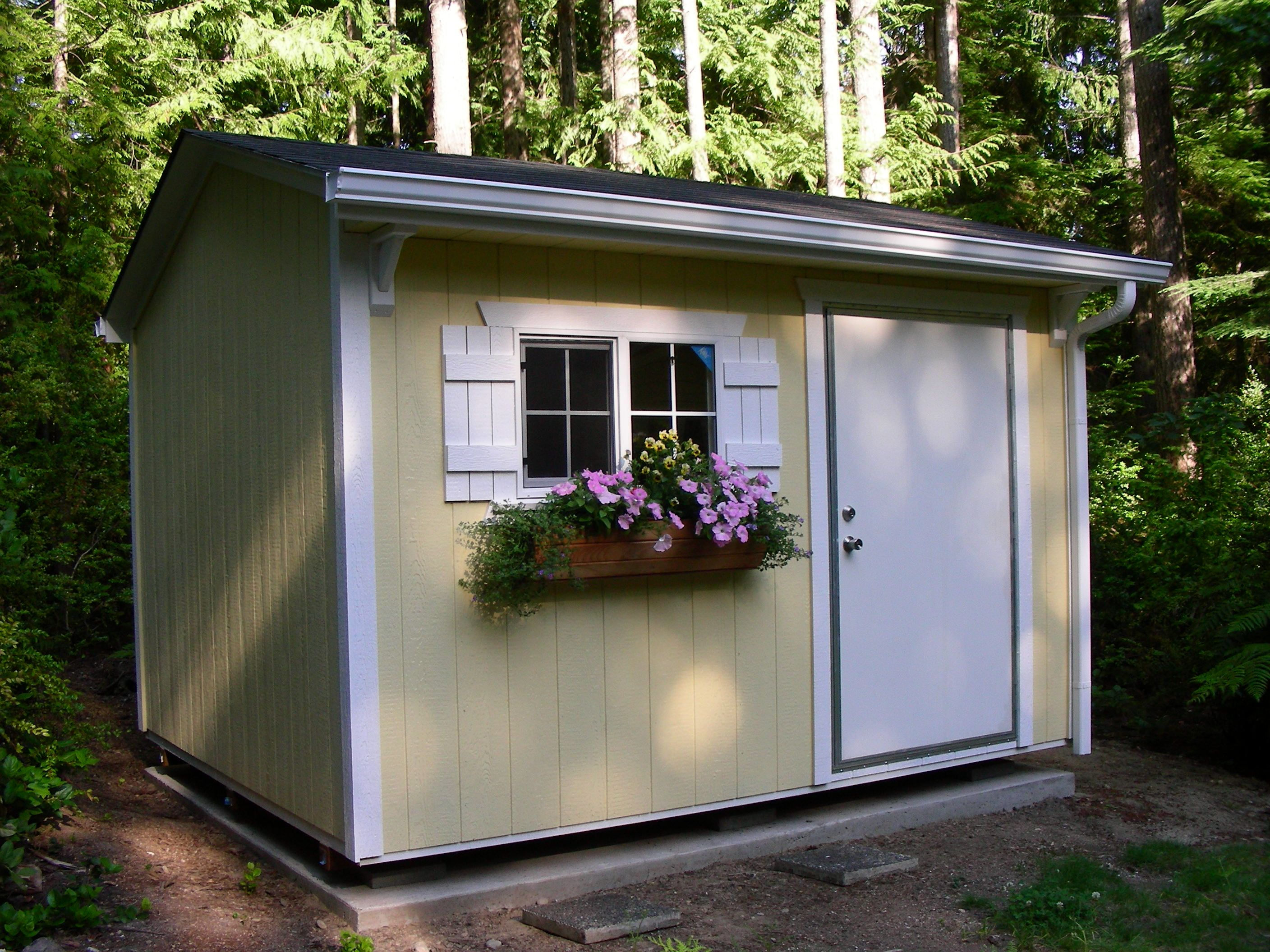 Courtyard Style Storage Garden Shed Playhouse Craft Room Mother