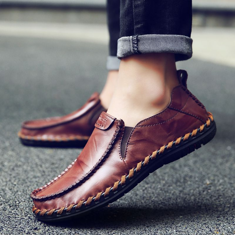 0ce61e8d7accb3 Shoes - New Fashion Men's Cow Split Leather Shoes in 2019 | Fashion ...
