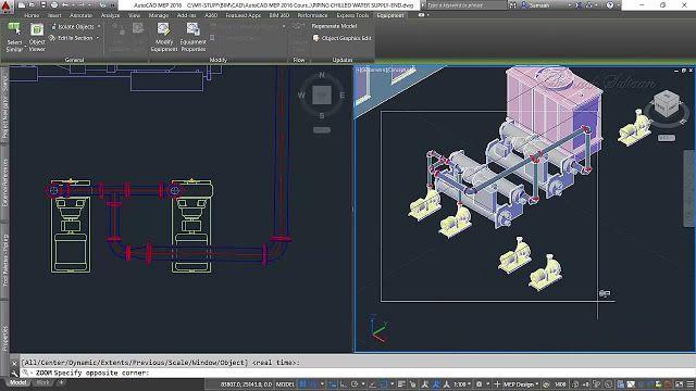 أوتوديسك أوتوكاد ميب مقدمة يعتبر أوتوكاد ميب من برامج التصميم الهندسي الذي يشارك في عمل النماذج الخاصة بالمجال الصحي أو الكهرباء وغ Autocad Autodesk Intro