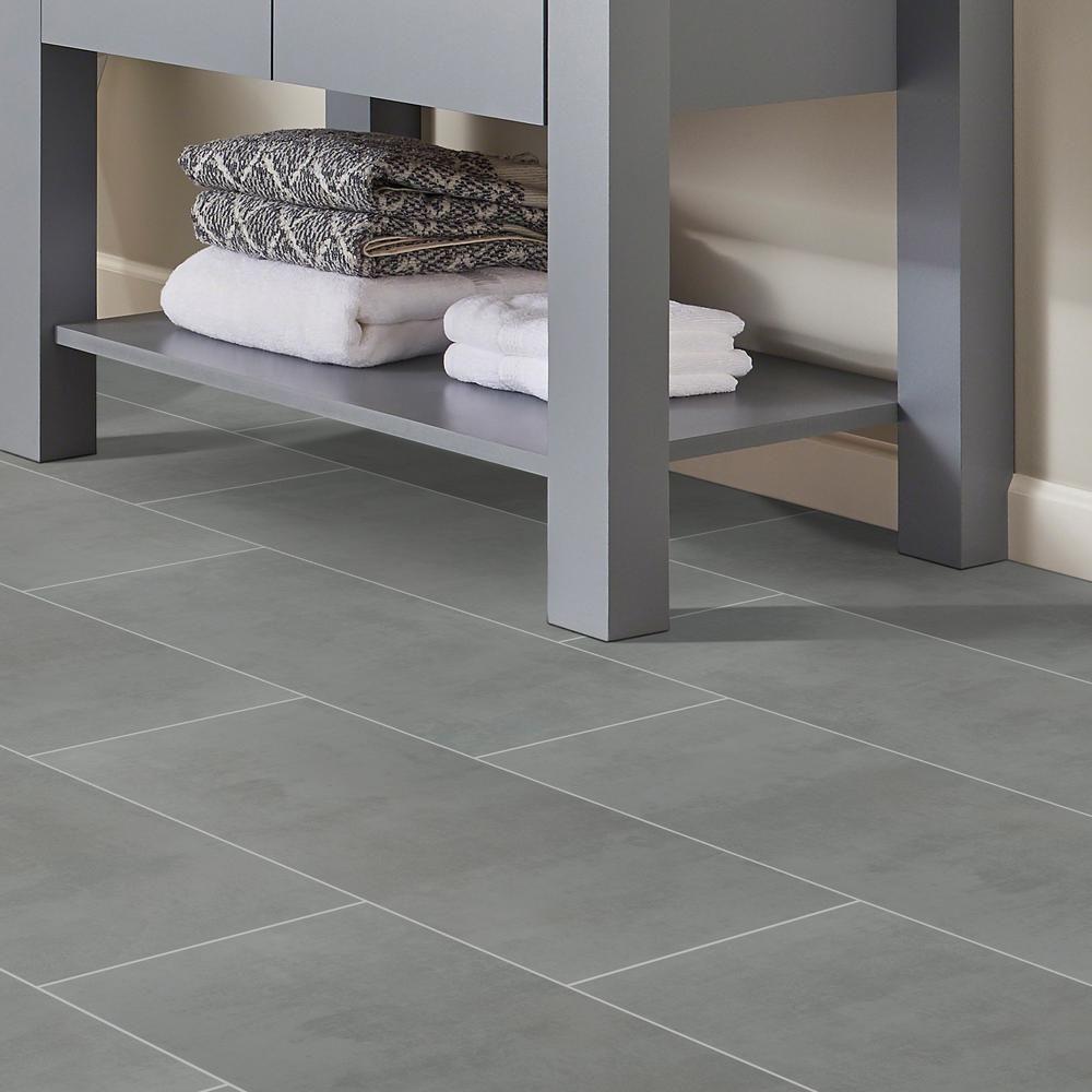 MSI Cementino Gray 12 in. x 24 in. Glazed Porcelain Floor
