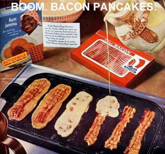 on the go pancake breakfast :)
