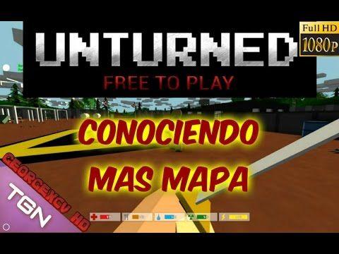 Unturned Gameplay Español Minecraft Con Zombies A Lo Dayz 1080p Mapas Aventura
