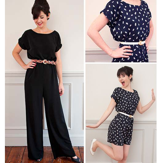 Poppy Playsuit Class // Sew Over It | Clothes Crafts and DIY ...