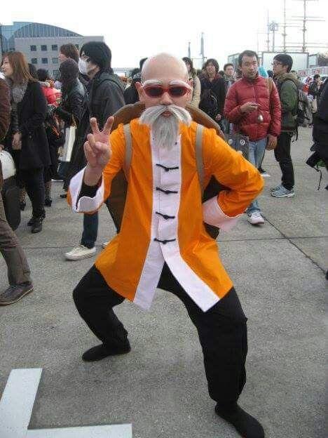 Master Roshi Cosplay Dragon Ball Z Dbz Cosplay Amazing Cosplay Manga Cosplay