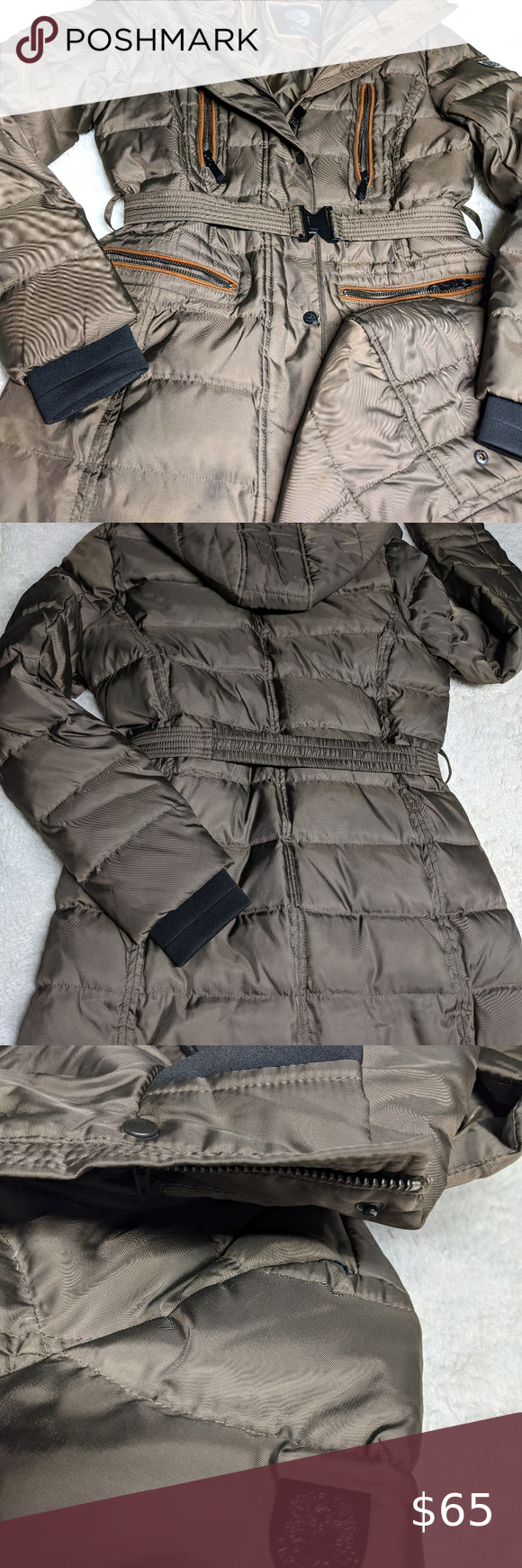 Vince Camuto Puffer Coat Puffer Coat Womens Black Winter Jacket Faux Fur Puffer Coat [ 1740 x 580 Pixel ]