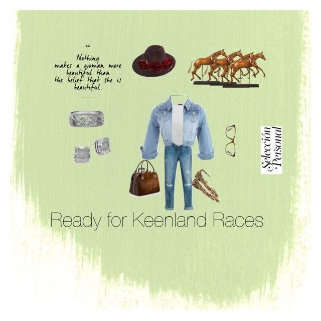 """""""#Horse race casual"""" by bbkatherinern on Polyvore featuring White House Black Market, Jimmy Choo, GlassesUSA, Alexander McQueen, Aspinal of London, Kate Spade and Authentic Models"""