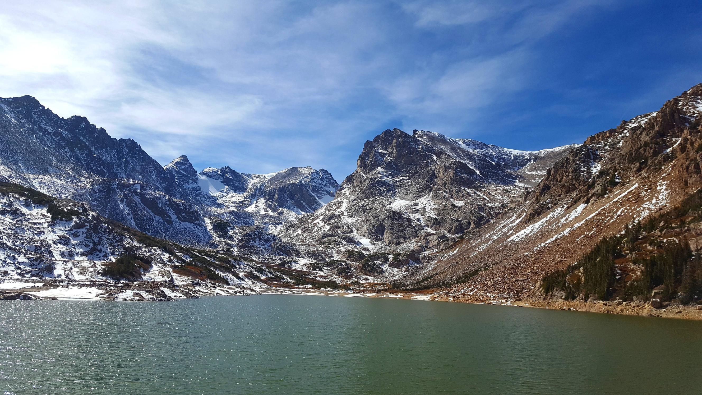 Peaks near Lake Isabelle Colorado Brainard Rec. Area USA