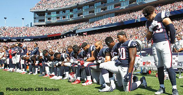 Super Bowl Lii Anticipating Protest And Selective Outrage Anthem Protesting Partyrockanthem Nfloncbs Ant National Anthem Nfl Players Kneeling Nfl Players
