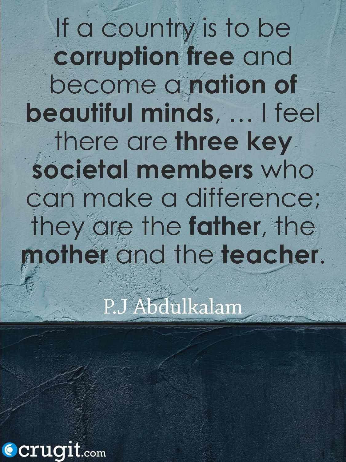 Abdulkalam Quote On Family And Politics Home Quotes And Sayings Family Quotes Quotes