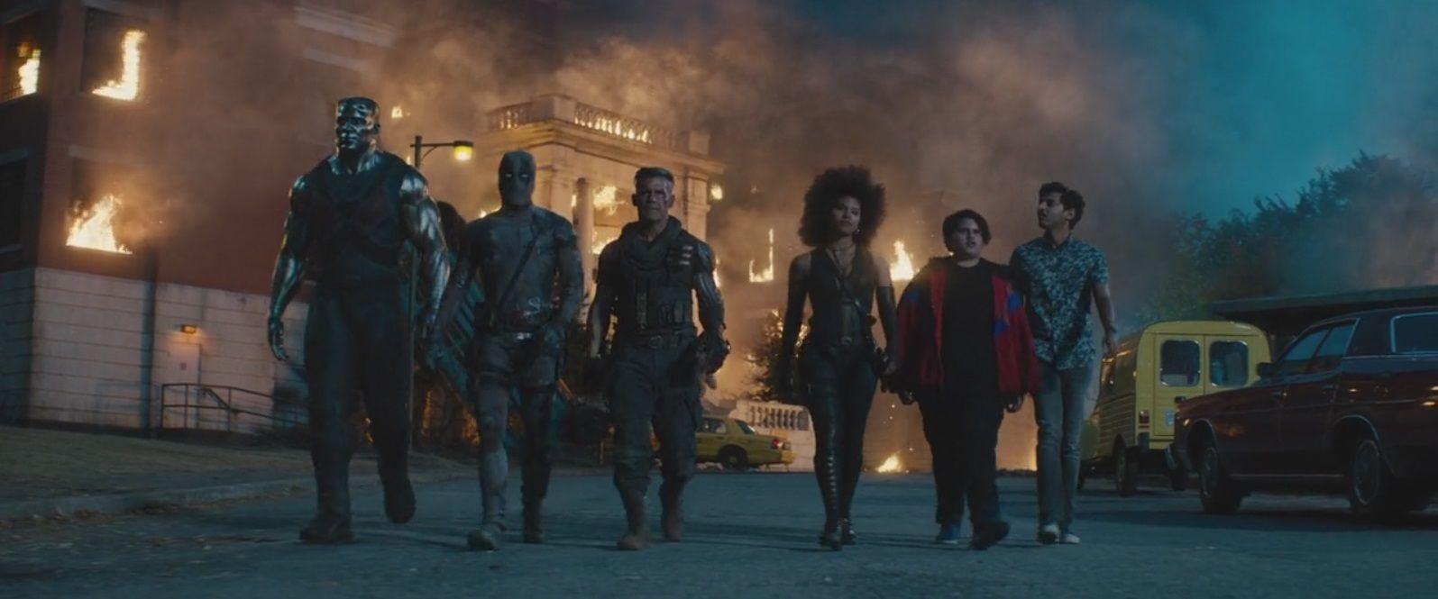 Deadpool 2 2018 Filmes