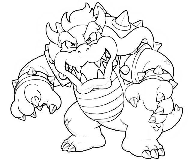 Bowser Coloring Pages Mario Coloring Pages Monster Coloring Pages Coloring Pages
