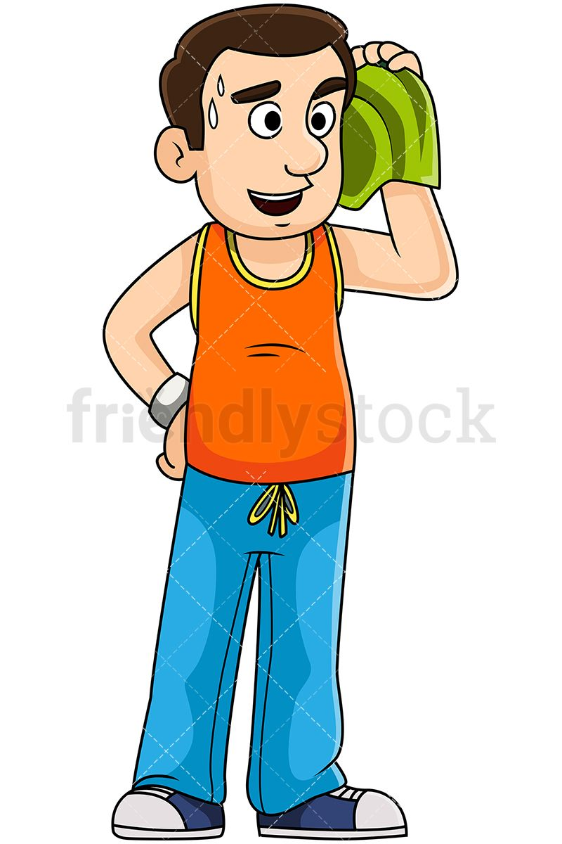 Free Clipart Sweating Person | Free Images at Clker.com - vector clip art  online, royalty free & public domain