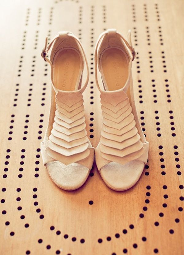 Bridal Style Neutral Colored High Heels Are A Perfect Fit For Your Wedding Day