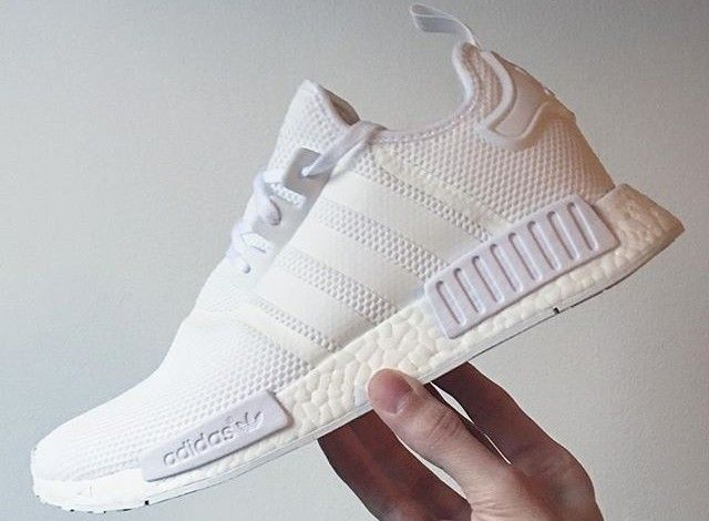 Adidas Boost White Nmd