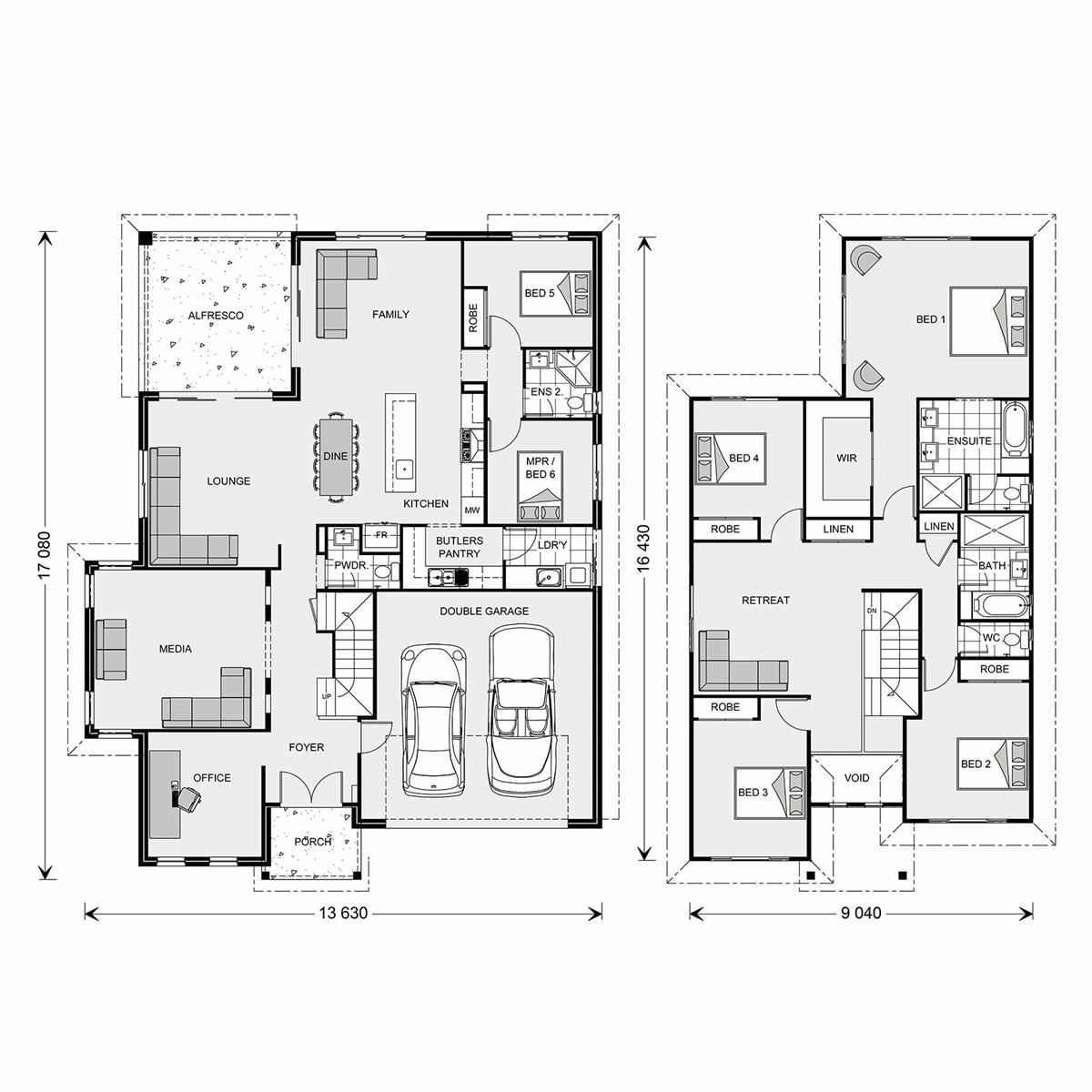 Twin Waters 330 Element, Home Designs in Perth West G