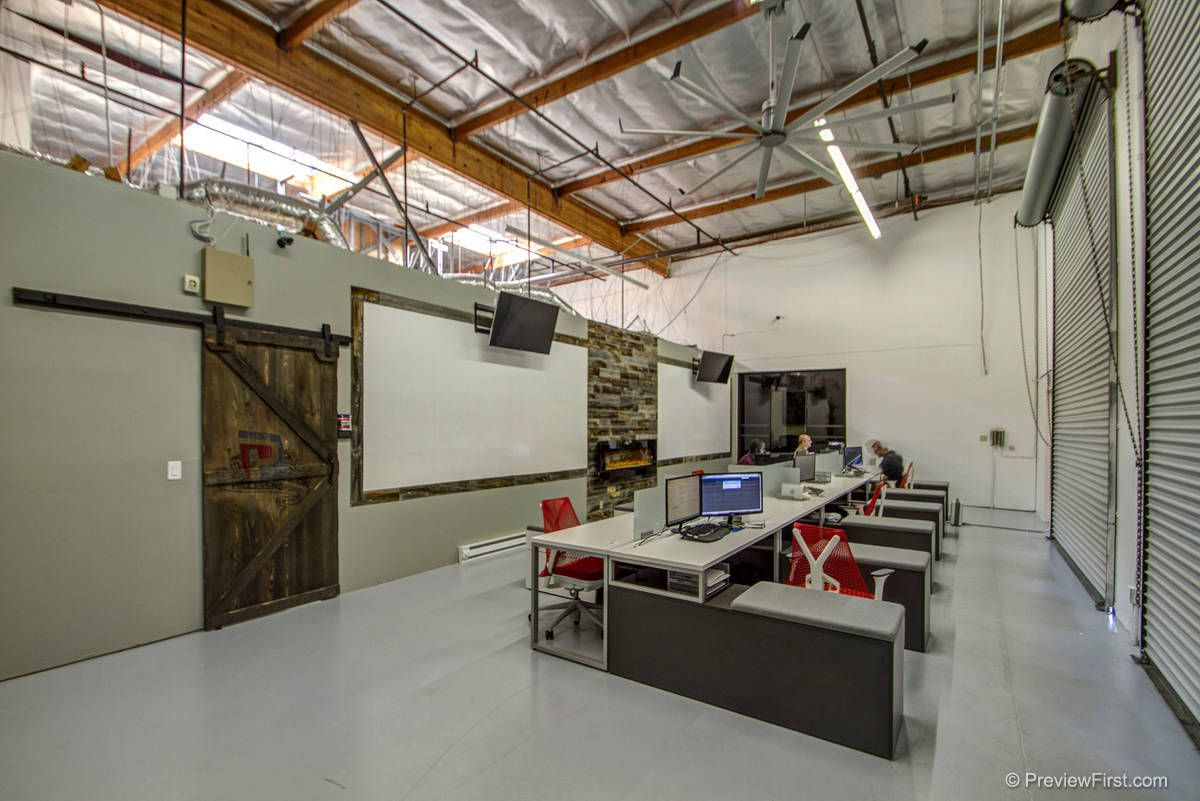 Image Result For Industrial Warehouse Office Space Design