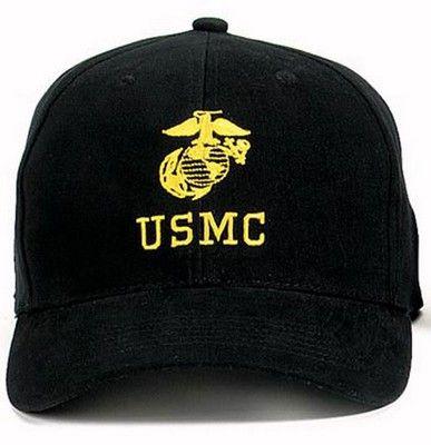 Military USMC Insignia Caps