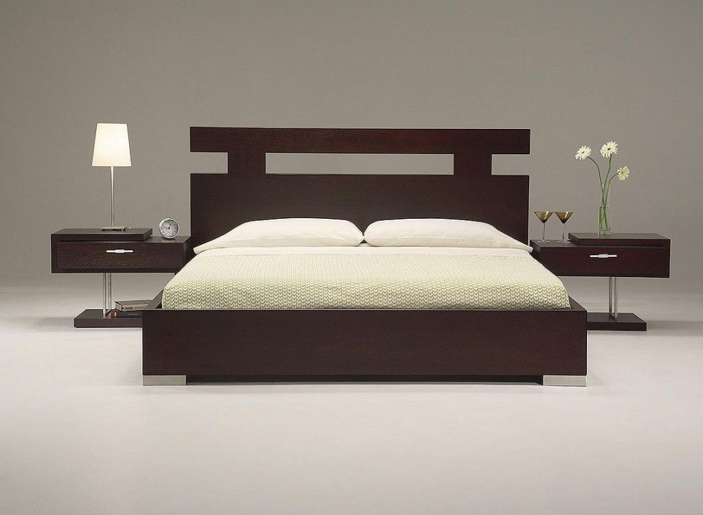 Gorgeous Wood Headboard Designs For Beds Home Interior Design Ideas Cly King Size With Dark Brown