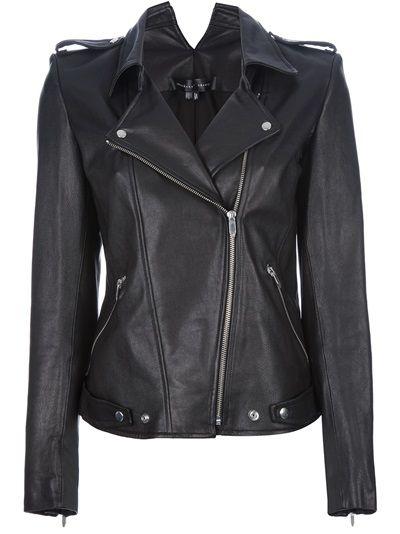 Theyskens Theory Nomi Biker Jacket Fashion Pinterest