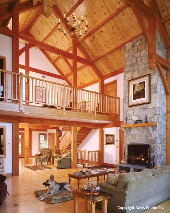 Timber Frame Homes, Great Rooms