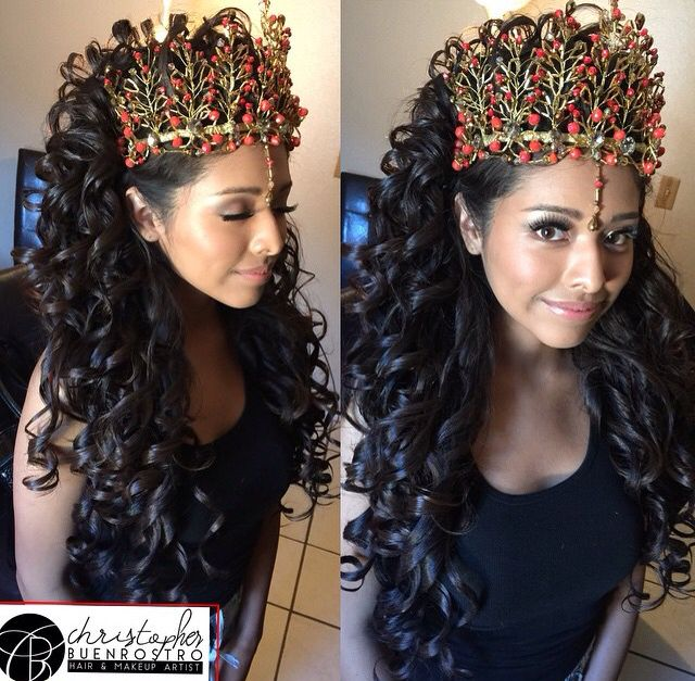 Quinceanera Hairstyles 20 wedding hairstyles with tiara ideas Find This Pin And More On Quinceanera Hairstyles By Greatresistance