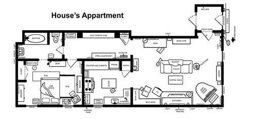 House's appartment