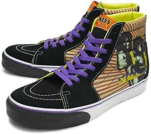 Kiss Vans | Vans sk8, Vans, Bmx shoes