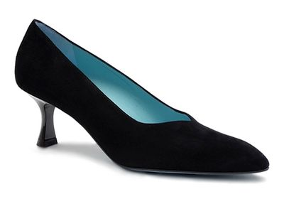 Romane C443 Couture - Black Suede by Thierry Rabotin