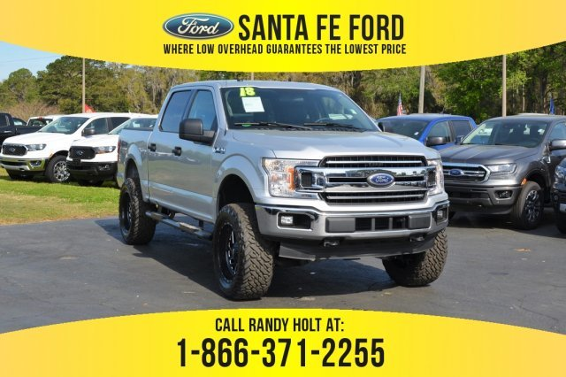 Used 2018 Ford F 150 Xlt 4x4 Truck For Sale Gainesville Fl