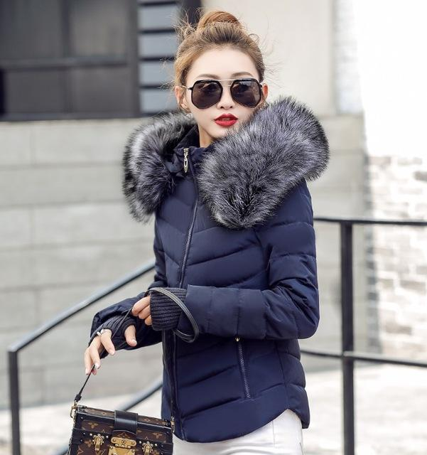 6e67e7db8fcc Kara Faux Collar Parka Jacket