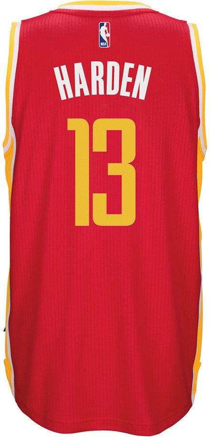 adidas Men s James Harden Houston Rockets Swingman Jersey ... b20f8daba