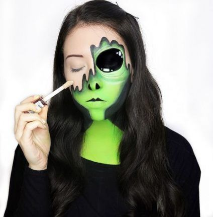 58 best ideas for eye shadow art creative colour  alien