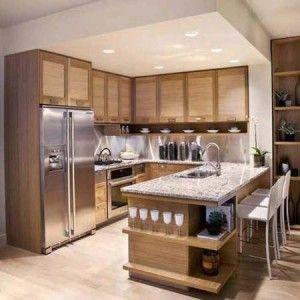 Cocinas empotradas con isla buscar con google cocinas for Ultimos modelos de cocinas