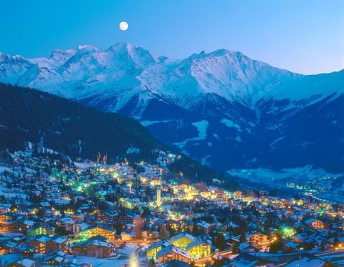 Verbier, Switzerland (would love to go skiing here)
