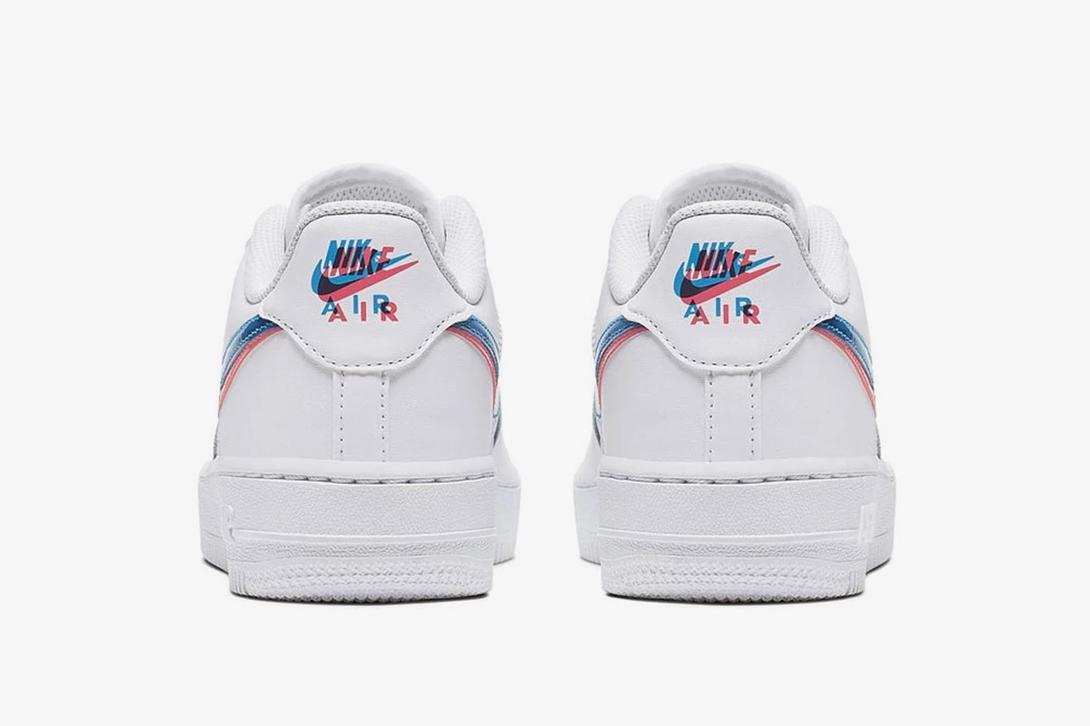 Nike Air Force 1 3D Swoosh Official Release Information