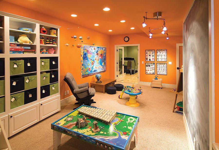 Basement Kids Play Area Finished Basement Playroom Finished Basement Designs Basement Design