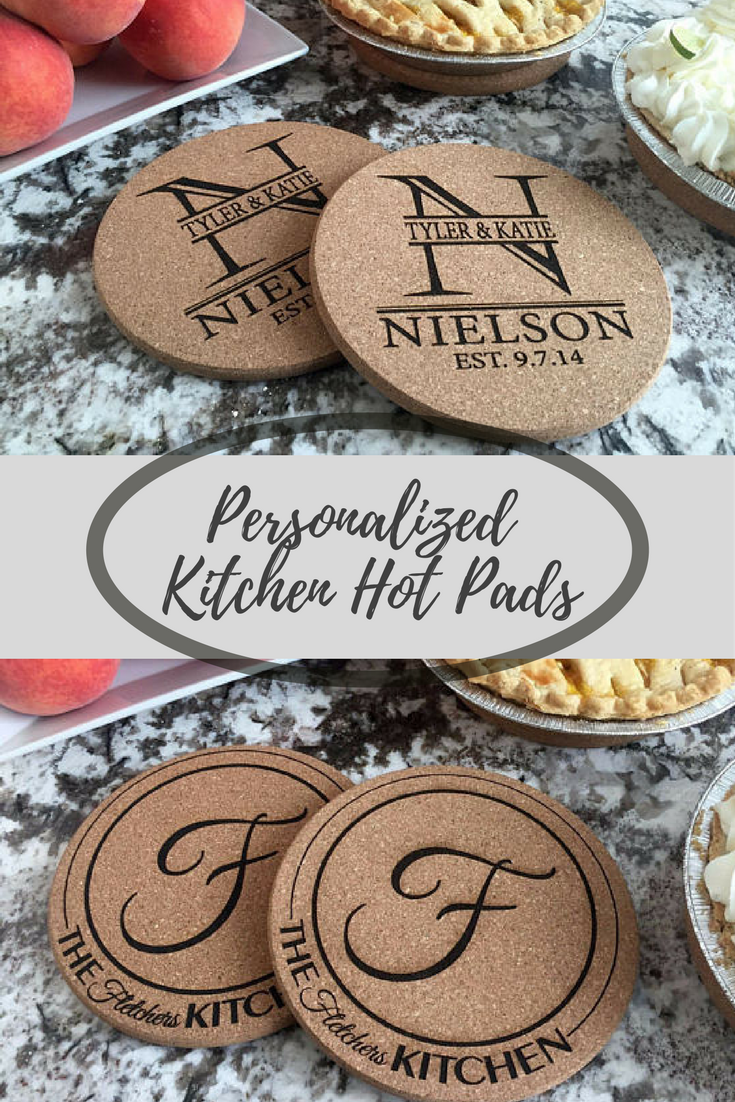 Kitchen Hot Pads Made Of High Quality Cork 7 In Diameter Protects Your Kitchen Counter Top And Ads A Personal Touch Kitchen Ad Etsyfinds